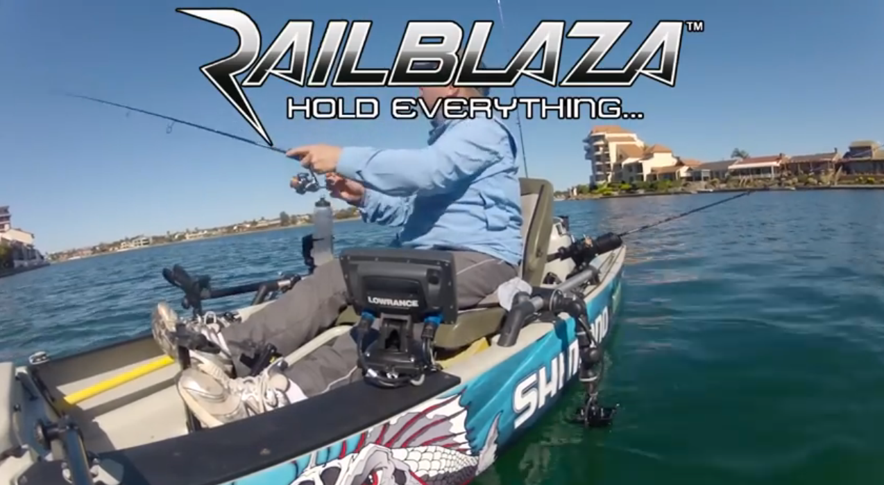 Hobie Pro Angler udstyret med Railblaza – bliv inspireret